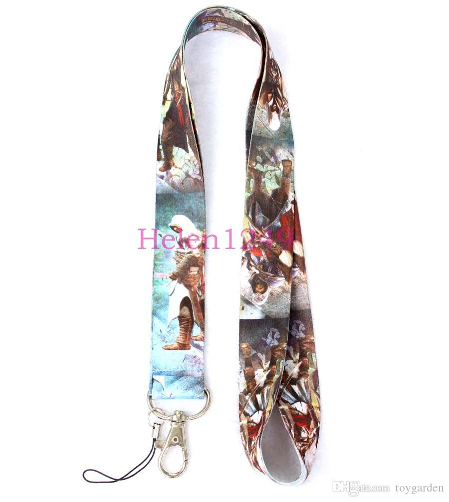 sell top games style Mobile Phone Necklace Strap Lanyards ID Card Hold B229