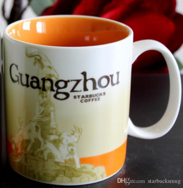 En De Classique Guangzhou Céramique Ville Starbucks Capacité La Tasse Meilleure 16oz Café zLMSpqUVG