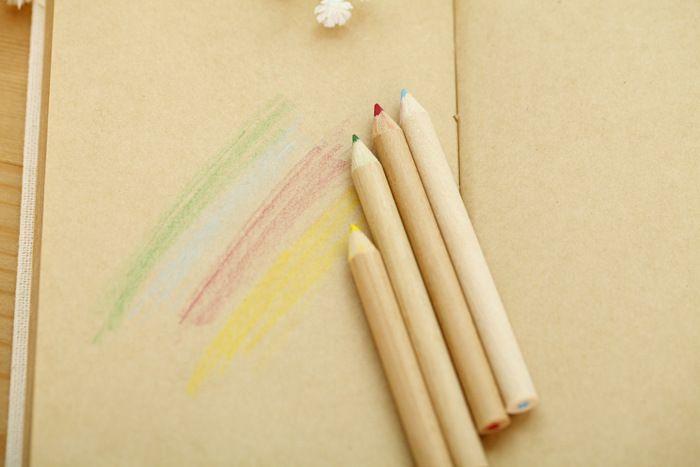 Matite colorate da i Penne colorate da incantare con la foresta Matite colorate Matite colorate