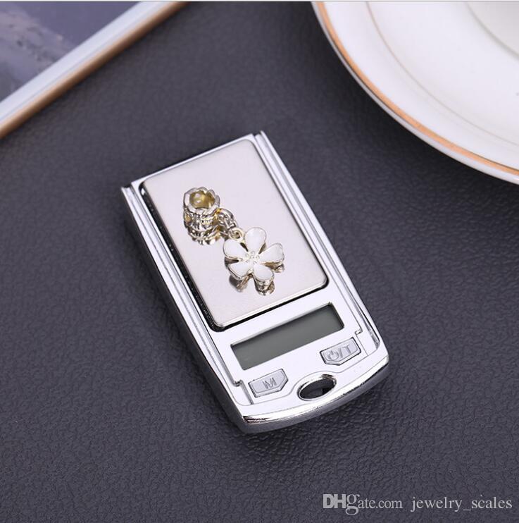 شاشة lcd مطبخ الموازين الإلكترونية الرقمية مقياس 0.01 جرام عالية الدقة البسيطة الجيب مفاتيح السيارة شكل مجوهرات مقياس