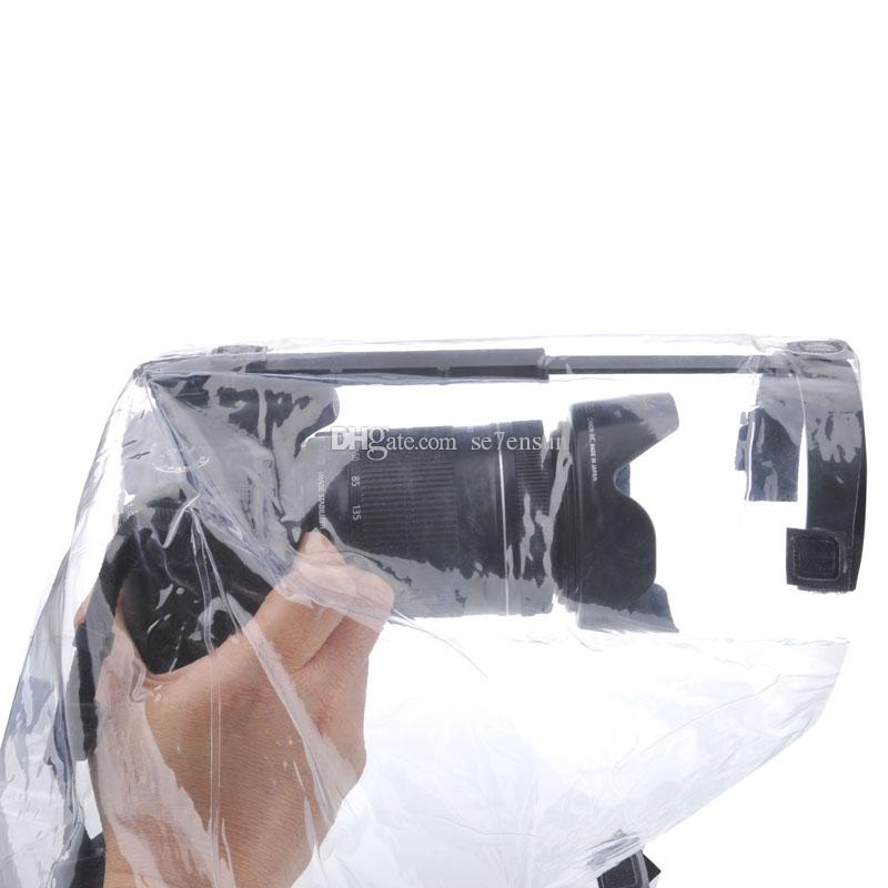 Professional Camera Rain Cover Coat Bag Protector Rainproof Waterproof Against Dust for Canon Nikon Pendax DSLR SLR