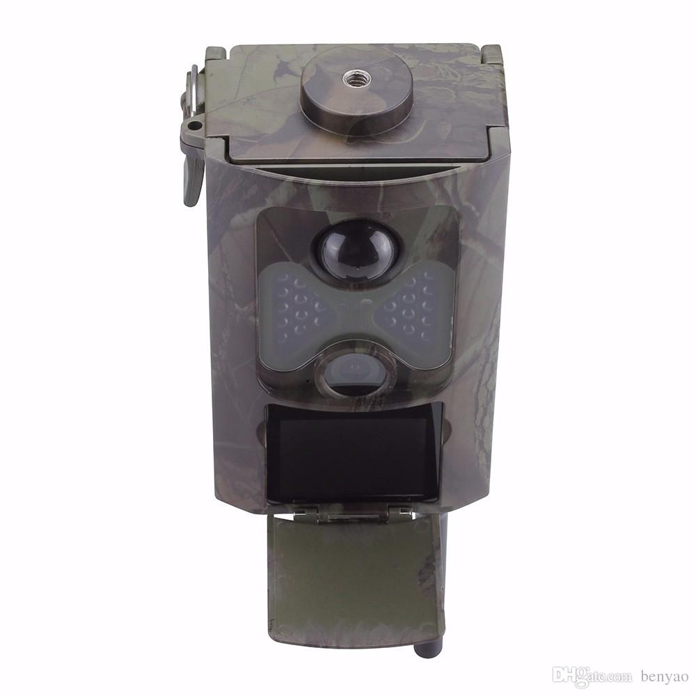 HC500M HC-500M Cámara de caza Explorador infrarrojo 12MP HD 1080P 2G GSM MMS GPRS SMS Wild Trail Trail cámara