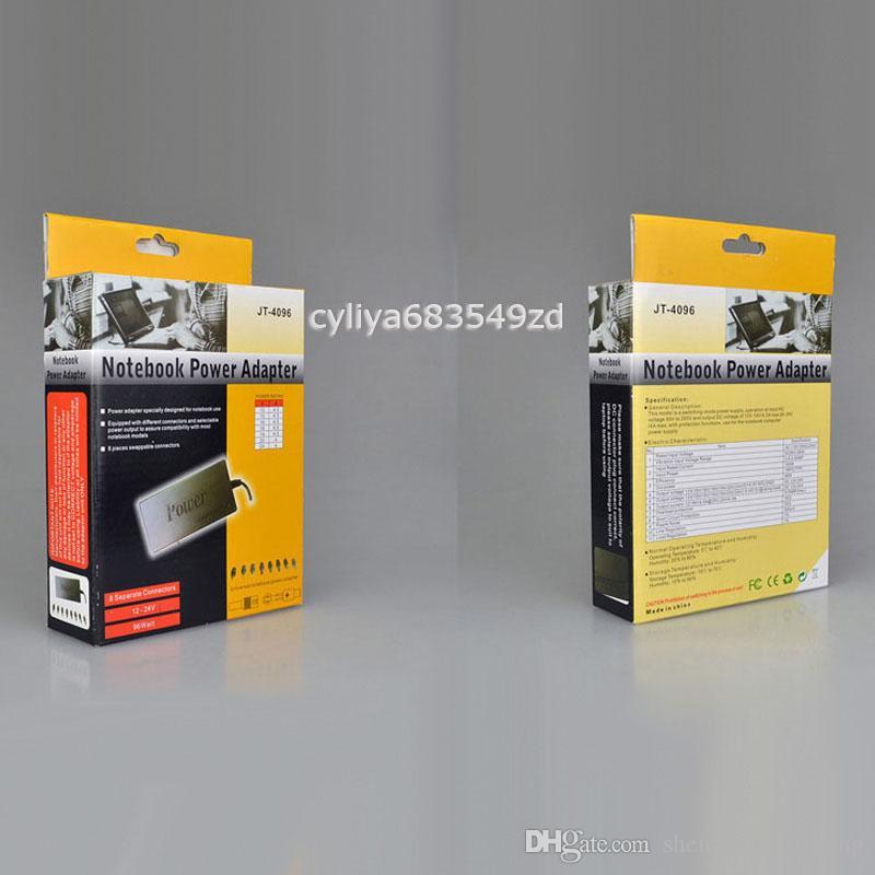 Caricabatterie adattatore 96W universale di corrente alternata il computer portatile Notebook DC 15V-24V D2952A con trasporto libero dell'imballaggio