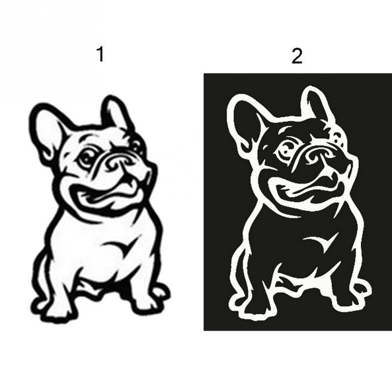 2019 Fashion French Bulldog Dog Car Sticker Pet Cars Decal