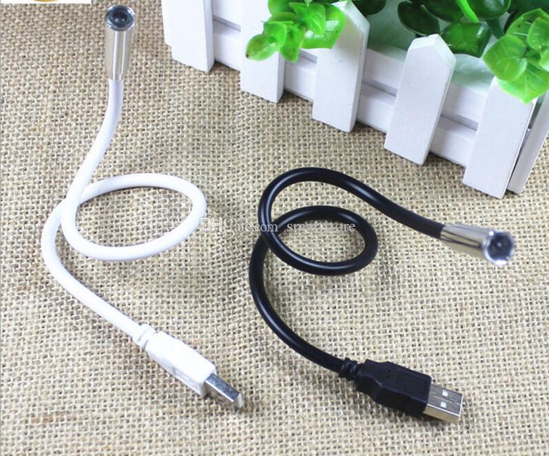 1000 pz / lotto 1 LED 1 PLASTICA Flessibile Portatile USB Lampada Della Luce Notebook PC Portatile Spedizione Gratuita Da DHL o FEDEX 0001