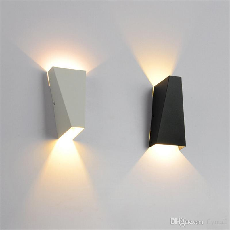 Genial 2018 10w Outdoor Waterproof Wall Lamp Led Modern Light Up Down Wall Lamp  Square Spot Light Sconce Lighting Indoor Bedroom Living Room Wall Light  From ...
