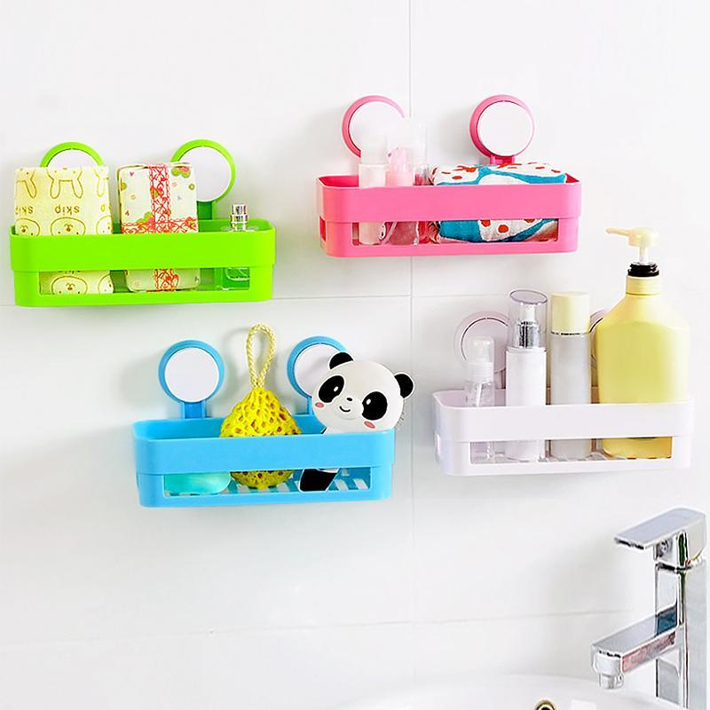 2018 Kitchen Suction Corner Tub Holder Bathroom Shower Bath Wall ...