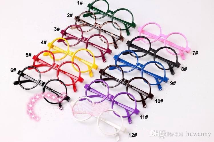 Glasses Frame Fashion Girls Eyeglasses Sunglasses Without Lenses Super Light and lovely Frame Glasses Muti-color Wholesale 0006GLS-100