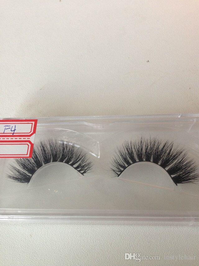 3D Mink Lashes Soft Sterilized False Eyelashes Mix Size Hypo Allergenic Crisscross Handmade Eyelash Extensions Beauty Tool
