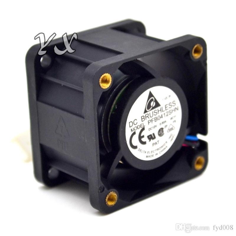 Frete grátis Original Novo PFB0412SHN 4028 12 V 0.6A bola dupla-servidores 1U ventilador para Delta 40 * 40 * 28mm