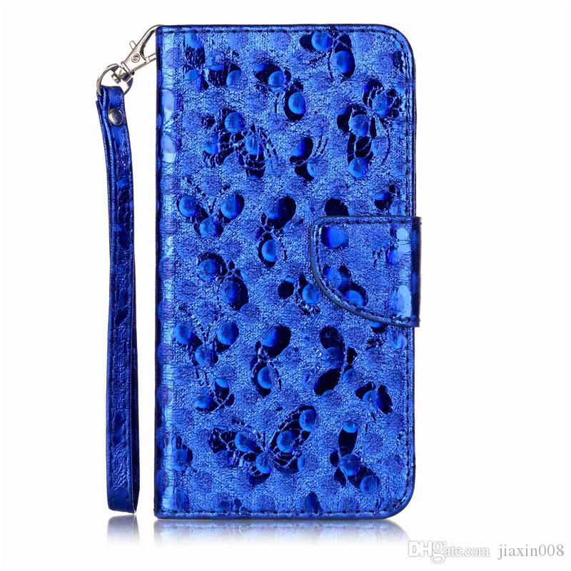 Fashion PU Leather Case For fundas Huawei Ascend P10 Plus Cover Phone Bag Laser Carving Butterfly Wallet Stand Mobile Phone Case
