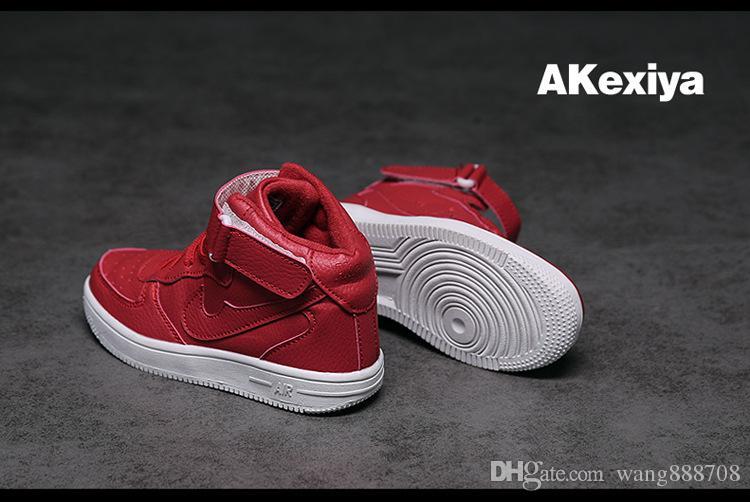 Erkekler ve kızlar spor ayakkabıları yeni Yüksek üst ayakkabıÇocuk moda spor ayakkabılar erkek ve kız sıcak ayakkabı rahat ayakkabı boyutu 26-37 ücretsiz kargo