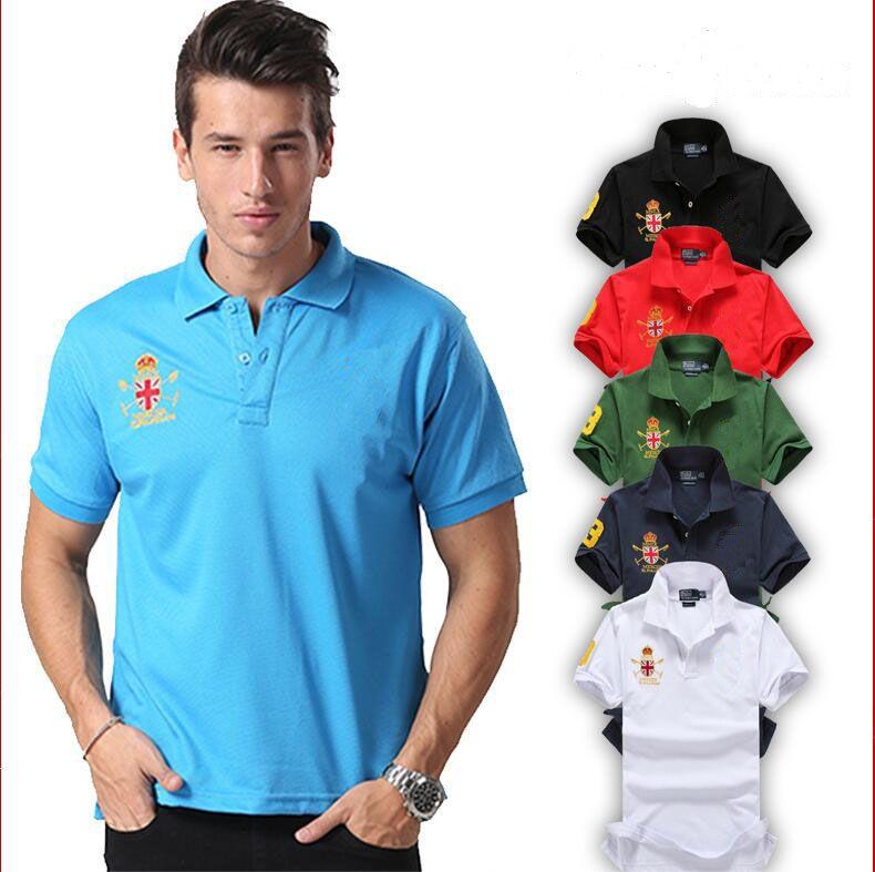 2017 2017 Latest Fashion Brand Logo Men Polo Shirts For Womens ...