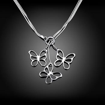 Venda por atacado - varejo menor preço de presente de Natal 925 moda jóias frete grátis colar N53
