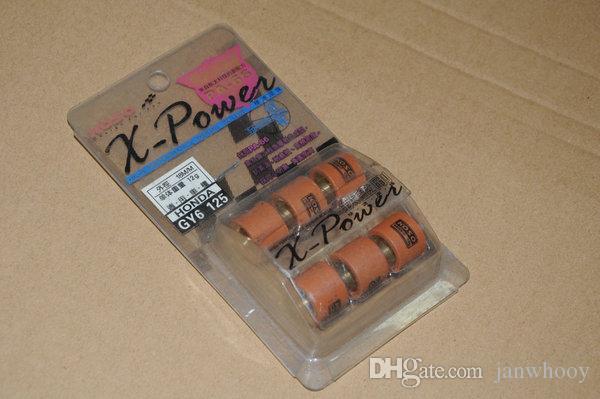 Envío gratis koso performance racing juego de rodillos variadores 18x14mm para Scooter ATV GY6 125 GY6 150 152QMI 157QMJ 10 gram-16