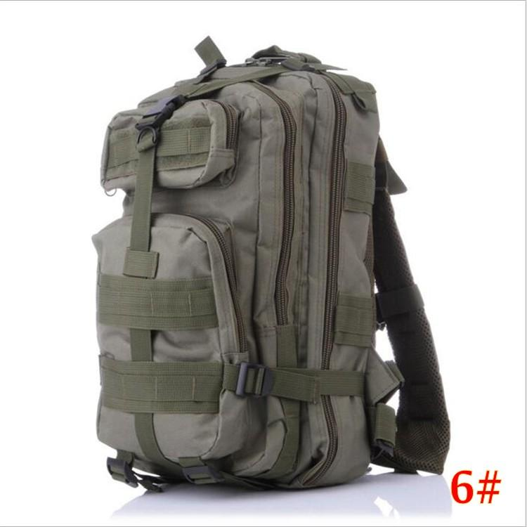 12 Designs 3P Hiking Camping Bag Military Tactical Trekking Rucksack Backpack Camouflage Molle Rucksacks Attack Backpacks DHL FEDEX free