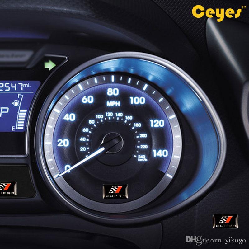 Car decal personalized fashion epoxy logo sticker for Seat Leon CUPRA Cute Auto Car Logo Brand Car Styling