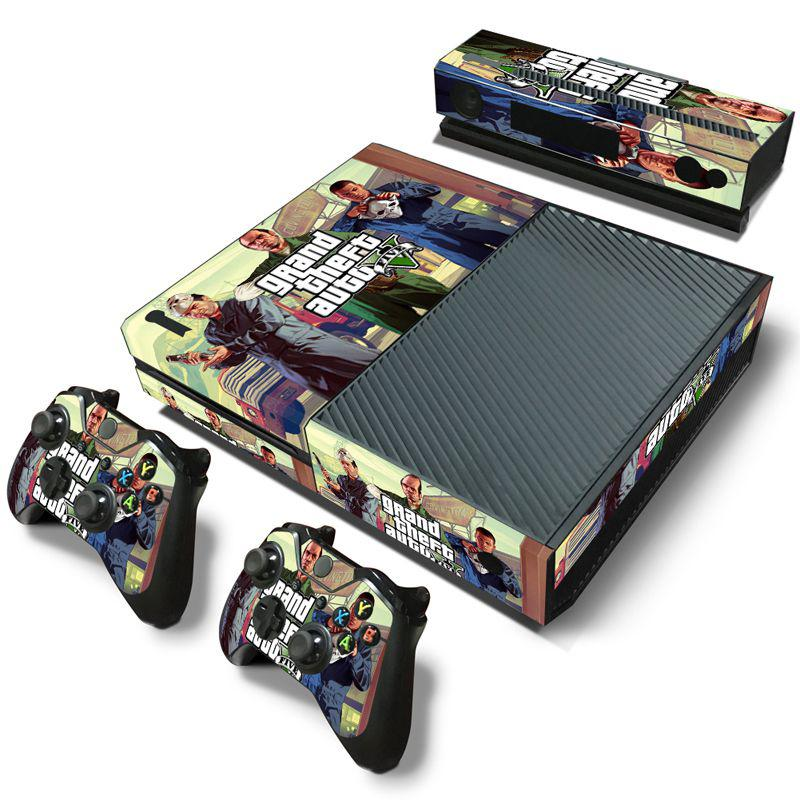 6 Styles Stickers GTA V For Microsoft Xbox One Console Skins Vinyl Sticker  Protector Wrap For Xbox One Controller Skin Cover Xbox One Stickers Xbox One  ...
