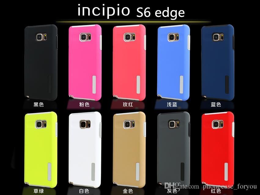 Nueva carcasa protectora de moda para Samsung Galaxy S8 S8 plus s7 s7 borde antideslizante cubierta trasera S6 Edge Armor TPU funda