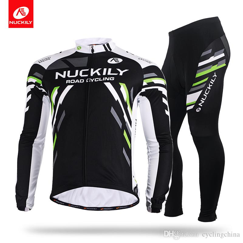 11cd139fd Nuckily Anti Bacterial Cycling Square Block Bicycle Wear China Wholesale  Quicki Drying Long Shirt And Tight Set MC005MD005 Cycle Clothes Biking  Jerseys From ...