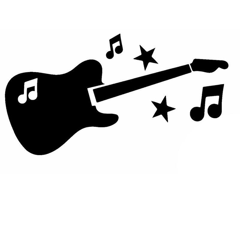 Satın Al Toptan 10 Adet Grup Sevimli Karikatür Gitar Güzel Dinamik
