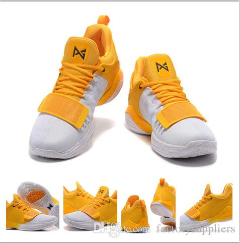 78c469eef831 2017 New Arrival Paul George PG 1 TS Prototype EP Shining Zoom Ferocity  Basketball Shoes Mens Trainers Paul George Shoes US 7 12 With Box Carmelo  Anthony ...