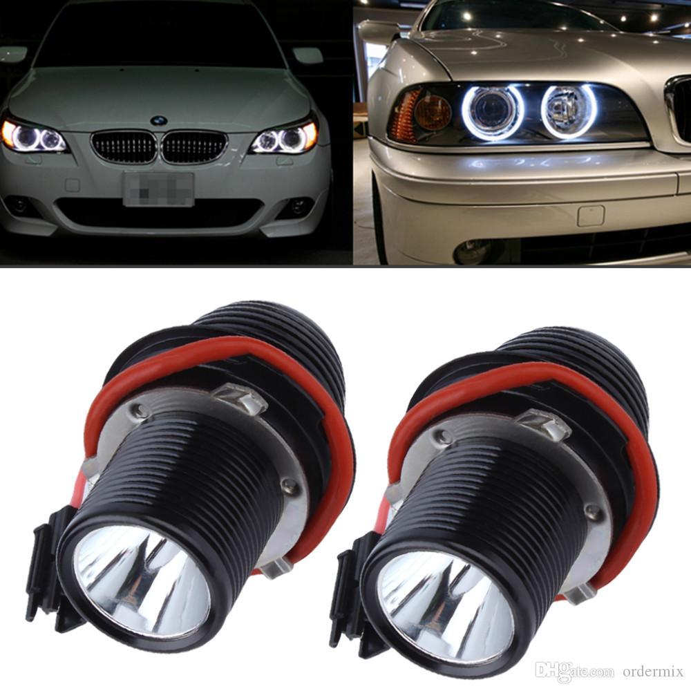 10W LED 천사 눈 헤일로 빛 BMW E39 E60 5 시리즈 M5 X5 E53 E63 E65 X3