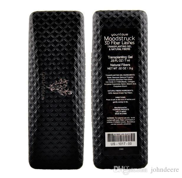 =Mascara 3D mascara Youni que lash 300X best 3D FIBER LASHES 5103 & 5223 version Waterproof Double With Barcode and instructio