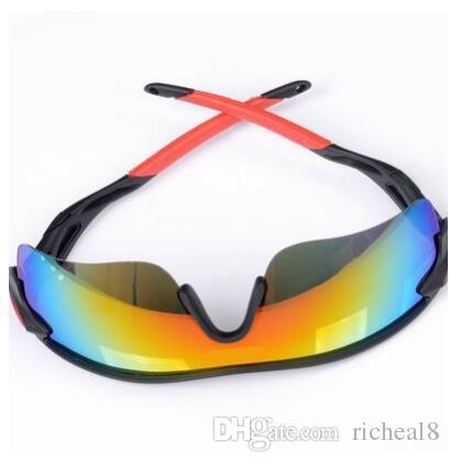 Sommer Sonnenbrille der neuen Art und Weise der Sonnenbrille SUN 9 Farben Sonnenbrille-Männer Fahrrad-Glas-NIZZA Sport Sonnenbrille Blendenfarbe Gläser A +++