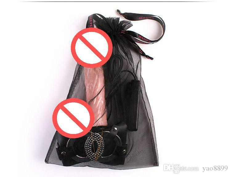 Sex Toys strap ons sex toys portent une culotte de gode, une masturbation avec pénis artificiel, un produit de sexe adulte pour un gode réaliste
