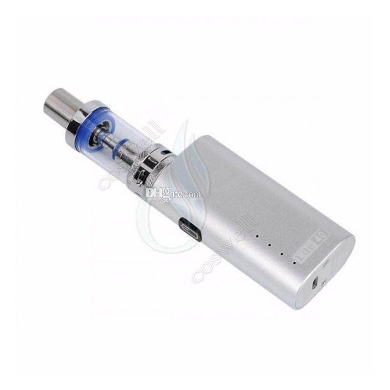 JomoTech Lite 40 Kit Starter vape kits Jomo 40w boîte mod mini bulit-in 2200mAh kits de vaporisateur de batterie 3 ml réservoir Lite e cigarettes vapeurs DHL