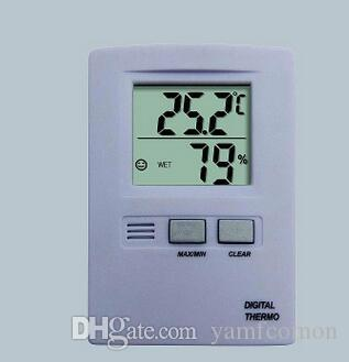 Digital LCD Display Temperature Humidity Thermometer and Hygrometer