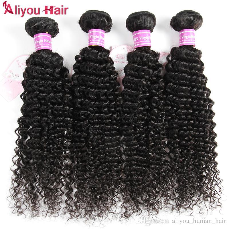 Nova Chegada Brasileira Peruano Malaio Indiano Kinky Curly Hair Weave Bundles Penteado Moda Suave Top Itens de Venda Extensões de Cabelo 6 ps