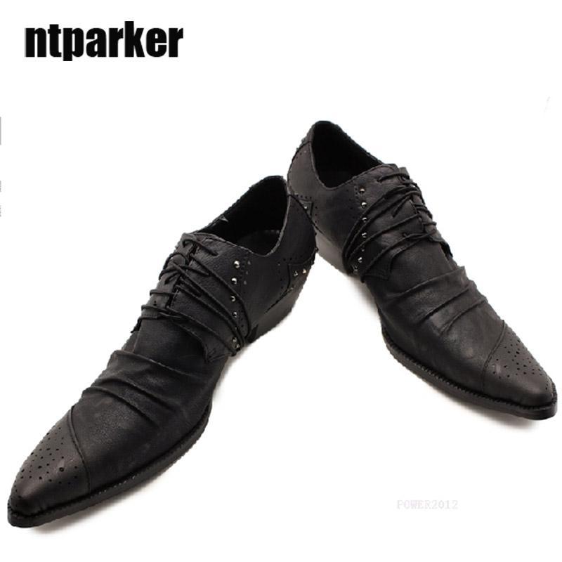 19af4e57e1 Japanese Style Men S Leather Shoes Male Fashion Male High Heel Leather Men  Shoes Fashion Shoes Zapatos De Hombre Sepatu Pria