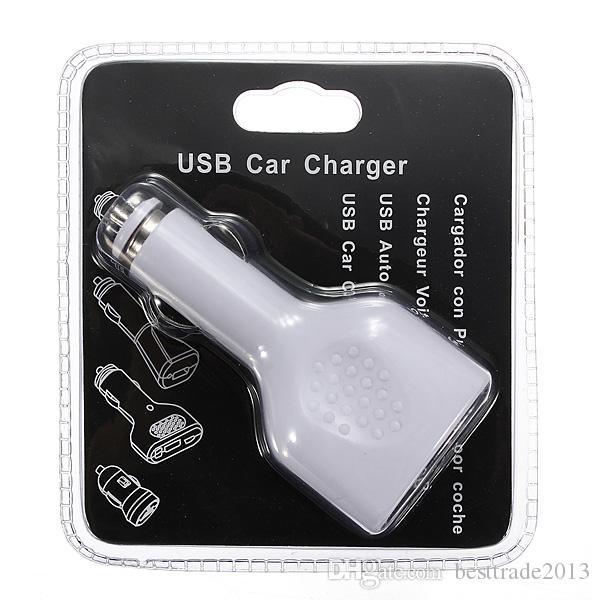 4 Port USB 5V 2.1A Car Socket Car Charger Adapter For iPad iPod For iPhone Samsung Cellphone Fast Charging