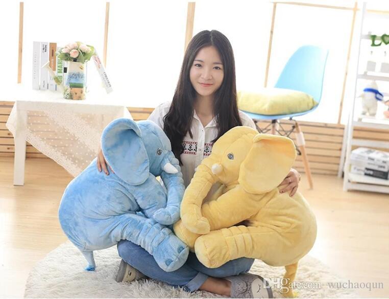 Elefant-Plüsch-Spielzeugpuppen Elefant-angefülltes Tier-Spielwaren-Elefant-Wurfs-Kissen-Baby, das Qualität schläft