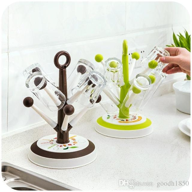 Home nice use cup storage holders and racks,kichen and garden bottle holder,green and coffee colours