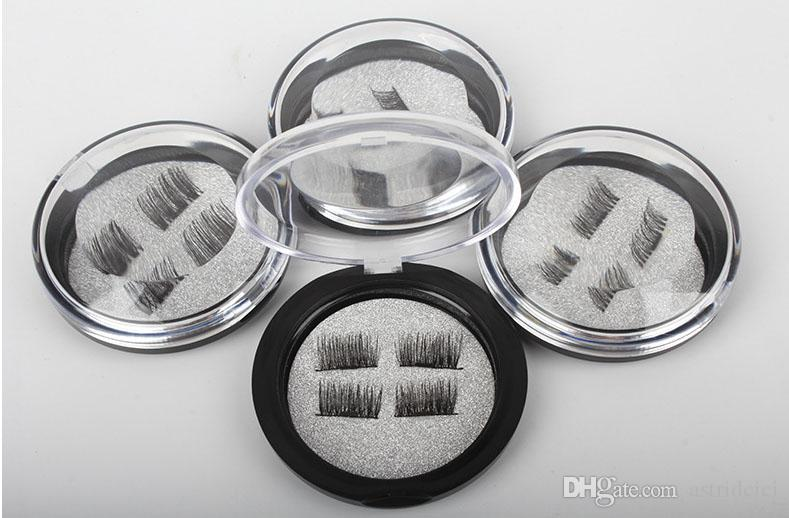 NO Glue Required!Permanent Magnetic Eyelash Individual Eyelash Extension kit 3D Mink Reusable False Magnet Magnetic Eyelashes