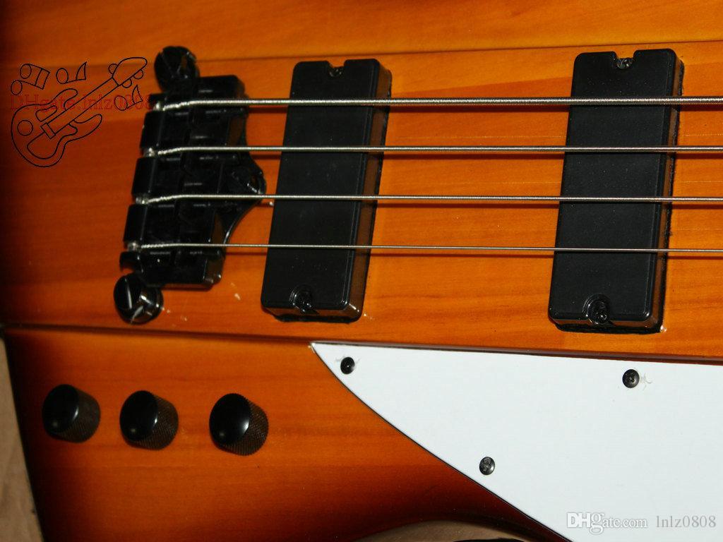 공장 사용자 지정 새 도착 중국어 저음 4 문자열 일렉트릭베이스 꿀 버스트베이스 기타