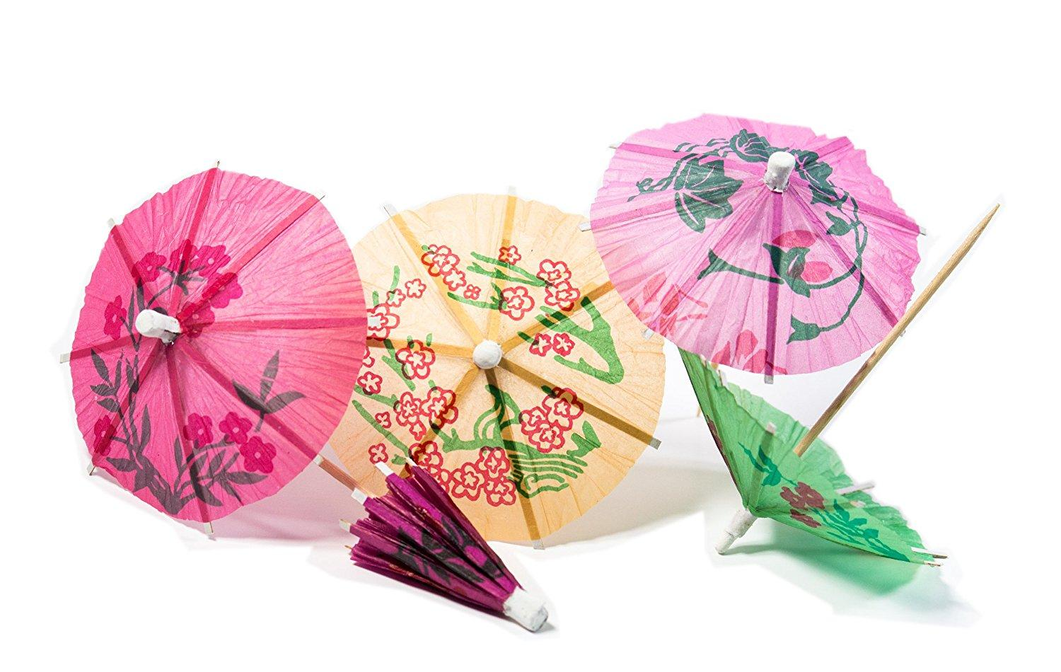Best Perfect Parasol Pick Tropical Drink Umbrella Picks Under $5.02 ...