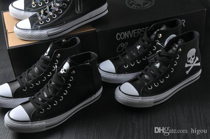 607a3668a65c ... 2017 Mastermind JAPAN X CONVERS MMJ Chuck Tay Lor All Star Zipper Shoes  For Men Women ...
