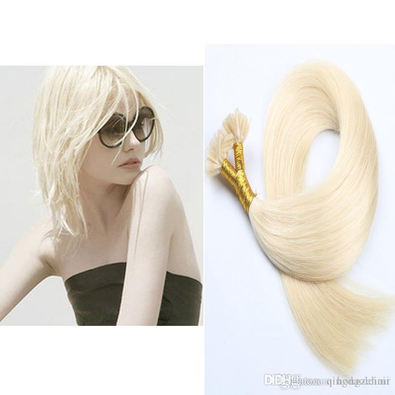 Wholesale Top Quality Pre Bonded U Tip Hair Extensions Straight