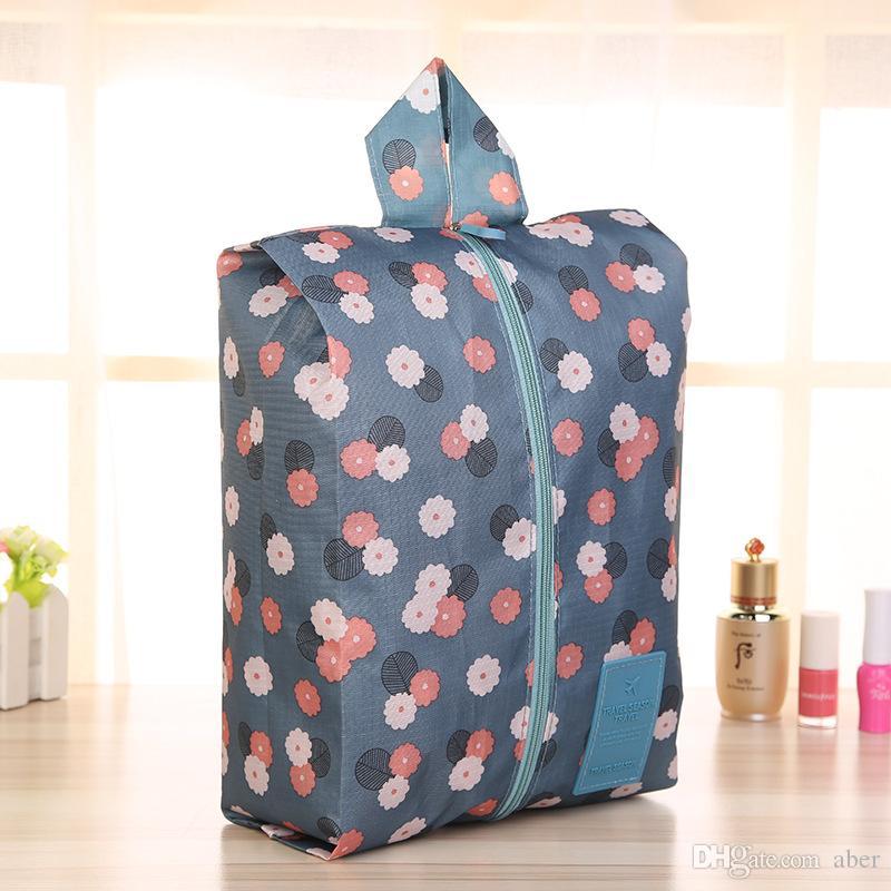 새로운 여성의 천으로 아트 메이크업 가방 핸드백 공장 새로운 마무리 기능 여성 여행 메이크업 케이스