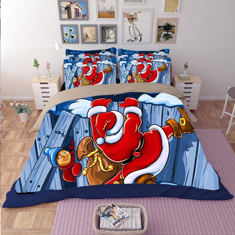 3 Teile / satz Böhmen moderne bettwäsche Luxus Quilt 3D weihnachtsgeschenk druck Böhmen bettwäsche 100% baumwolle bettwäsche bettwäsche BeddingOutlet