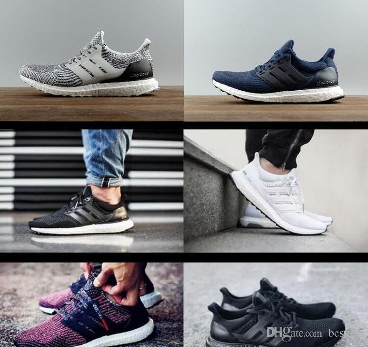online sale online low shipping for sale 2017 New All White Ultra boosts 3.0 Sneakers Men Footwear Triple White Women Running Shoes Sports Shoes ultuaboost 3.0 Collection ebay sale online 100% original cheap price oQJHMBCt
