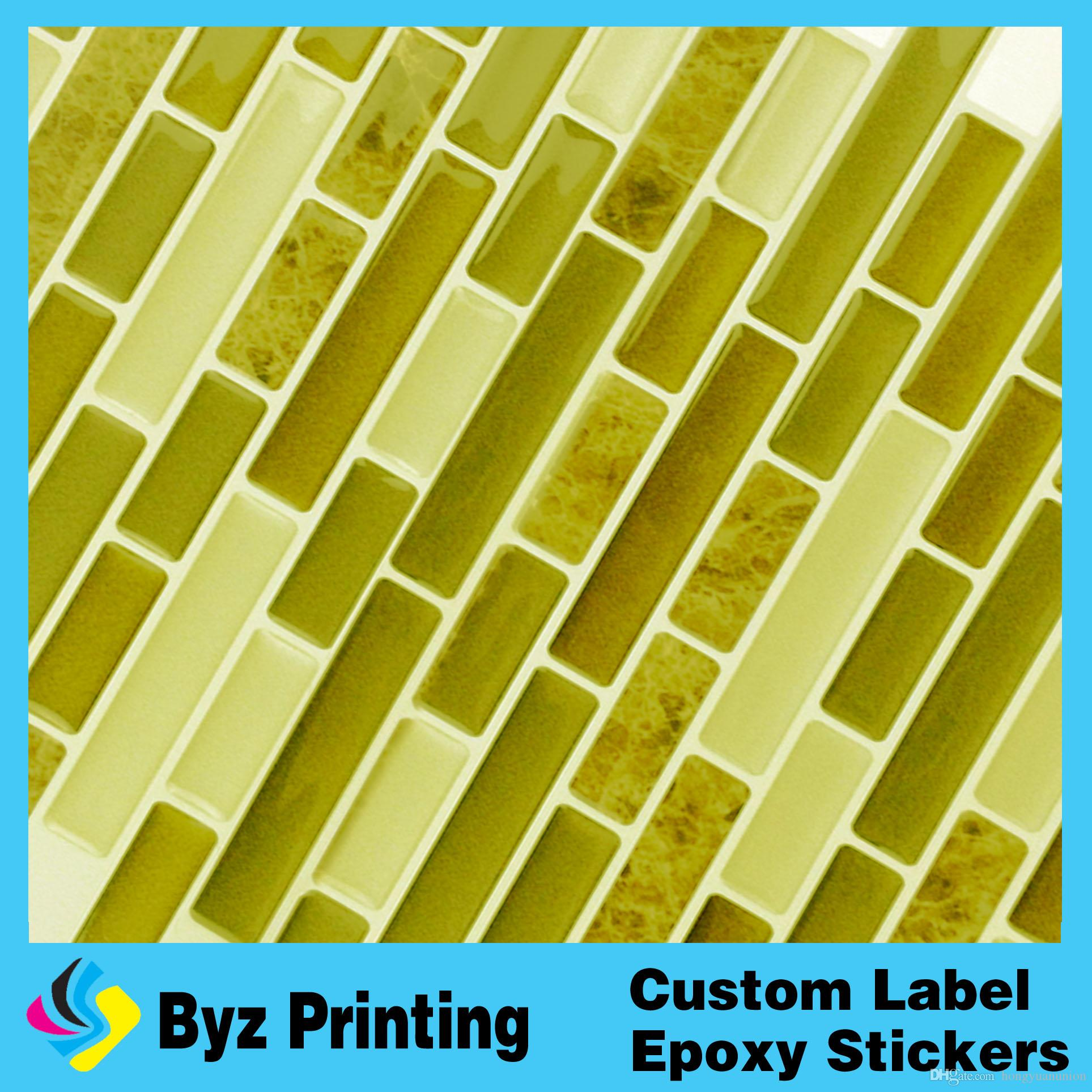 Customized Color Adhesive Room Decor 3d Wall Tile Large Size Wall ...