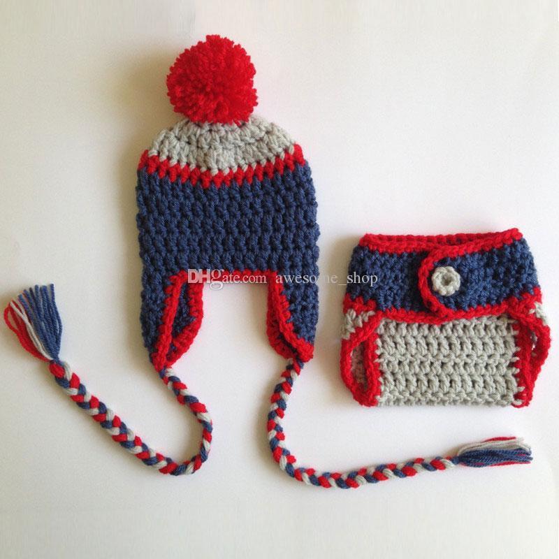 Großhandel Entzückende Neugeborenen Fußball Outfit, Handgemachte ...