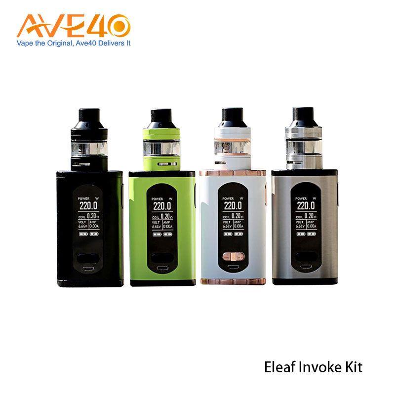 Eleaf Invoke Kit 220W with ELLO T