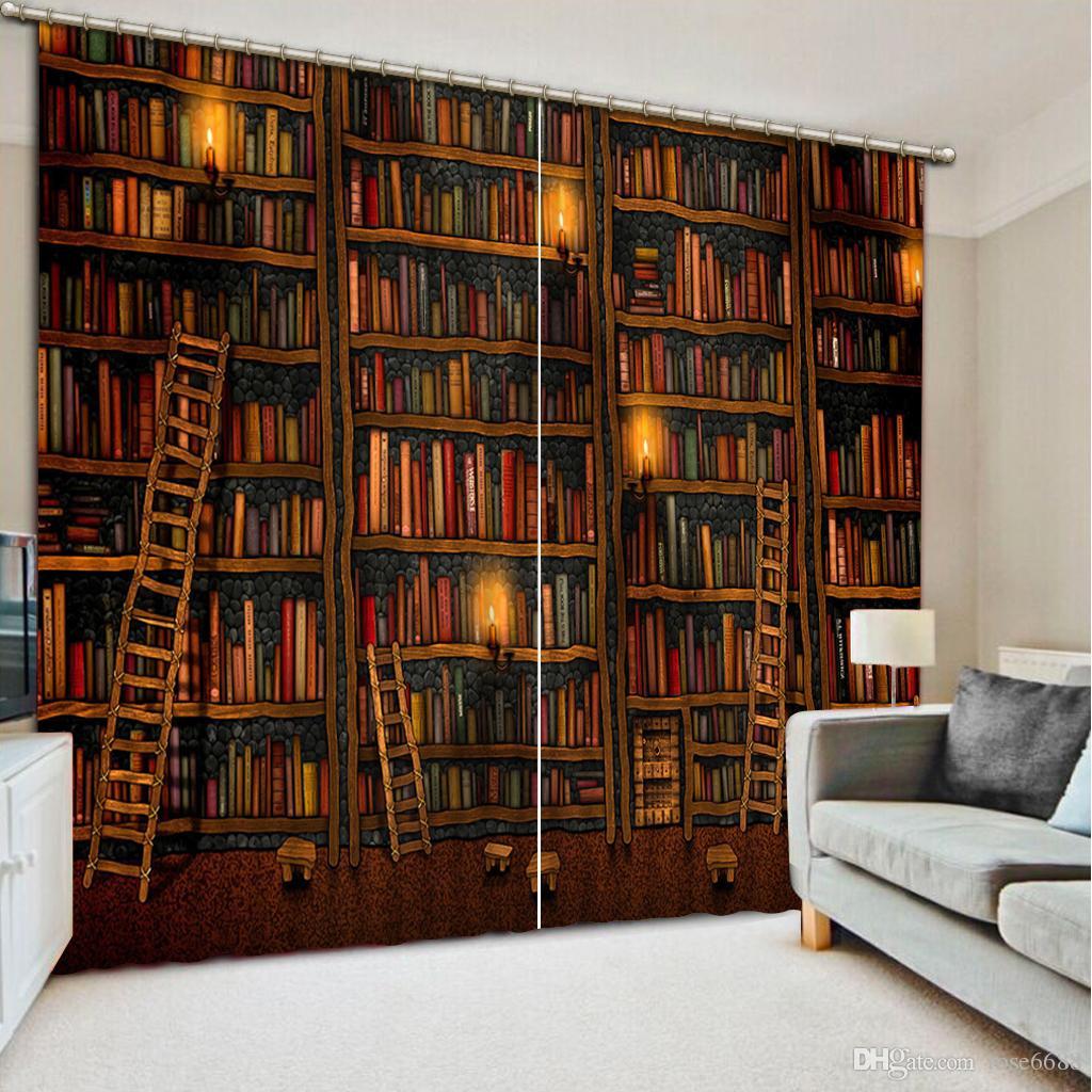 2017 Photo Any Size Decorative Curtain Home Decor Book Modern