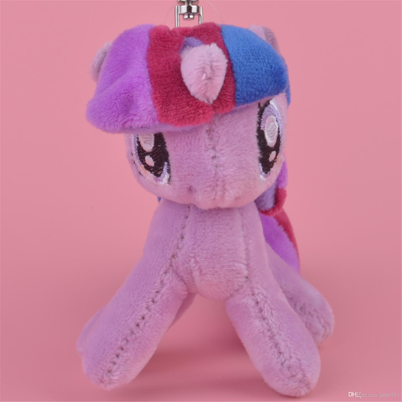 Wholesale 10cm Little Horse Twilight Sparkle Stuffed Animals Plush Keychain 81552e10850f